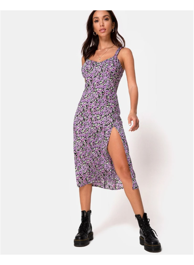 Jova Dress- Lilac Blossom