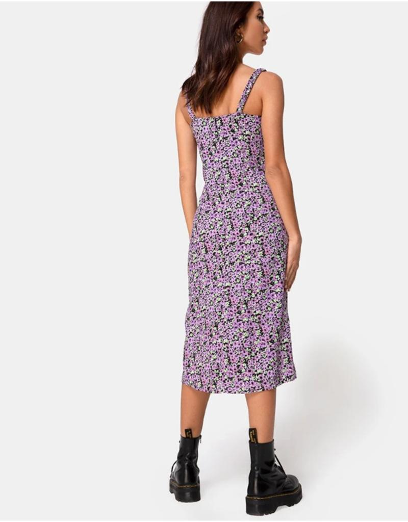 Motel Rocks Jova Dress- Lilac Blossom