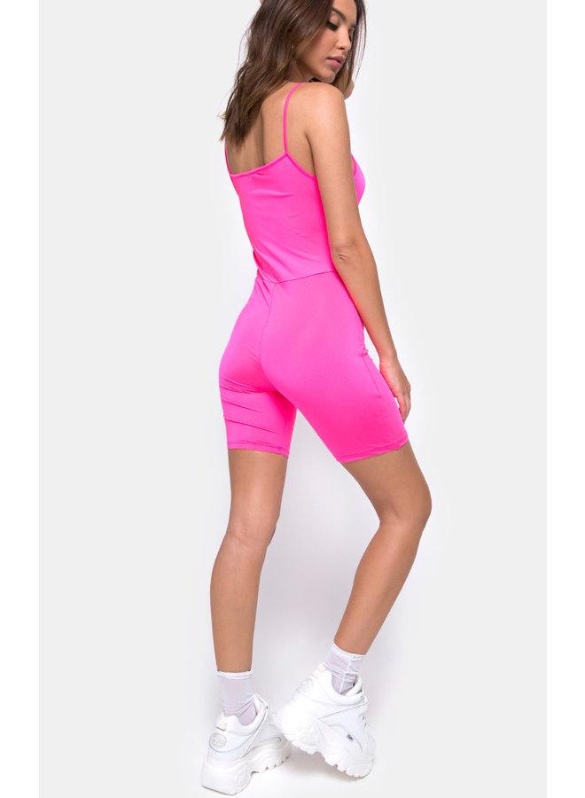 Lita Unitard Nylon Pink