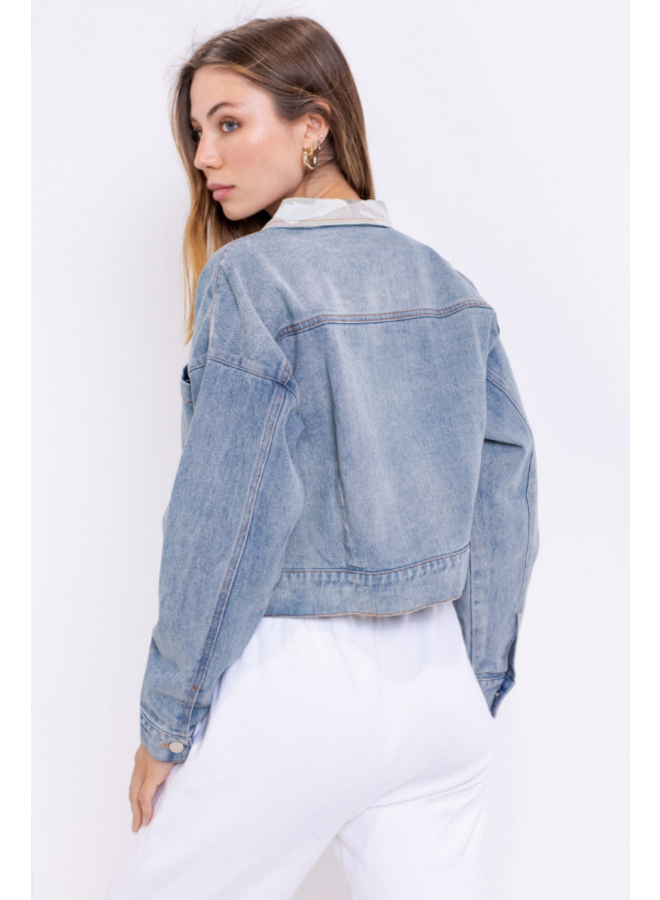 Move Out Denim Jacket