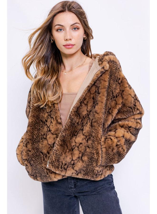 Wild Thing Fur Hoodie