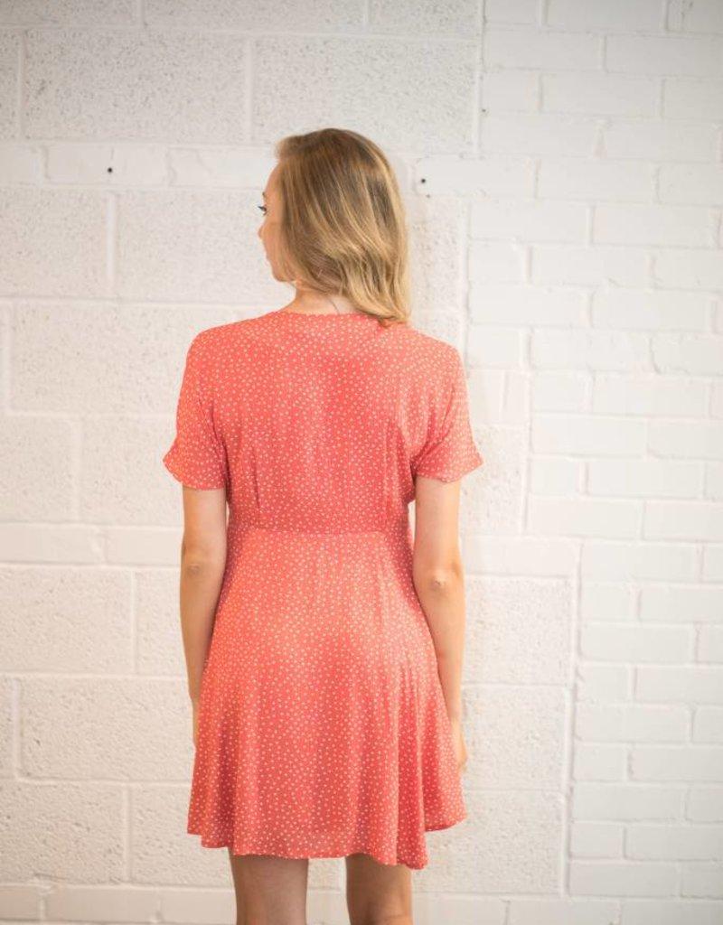 Minkpink Kindred Button Front Dress