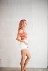 Somedays Lovin Shimmering Bays Denim Shorts