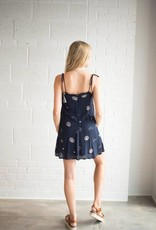 Free The Roses Constellation Mini Dress