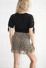 Animal Magnetism Mini Skirt