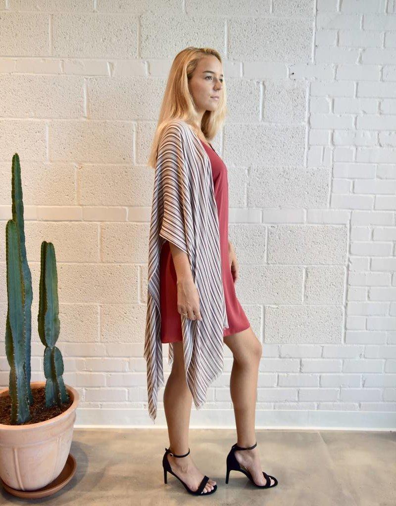 Gentle Fawn Gallery Kimono Fawn Pinstripe