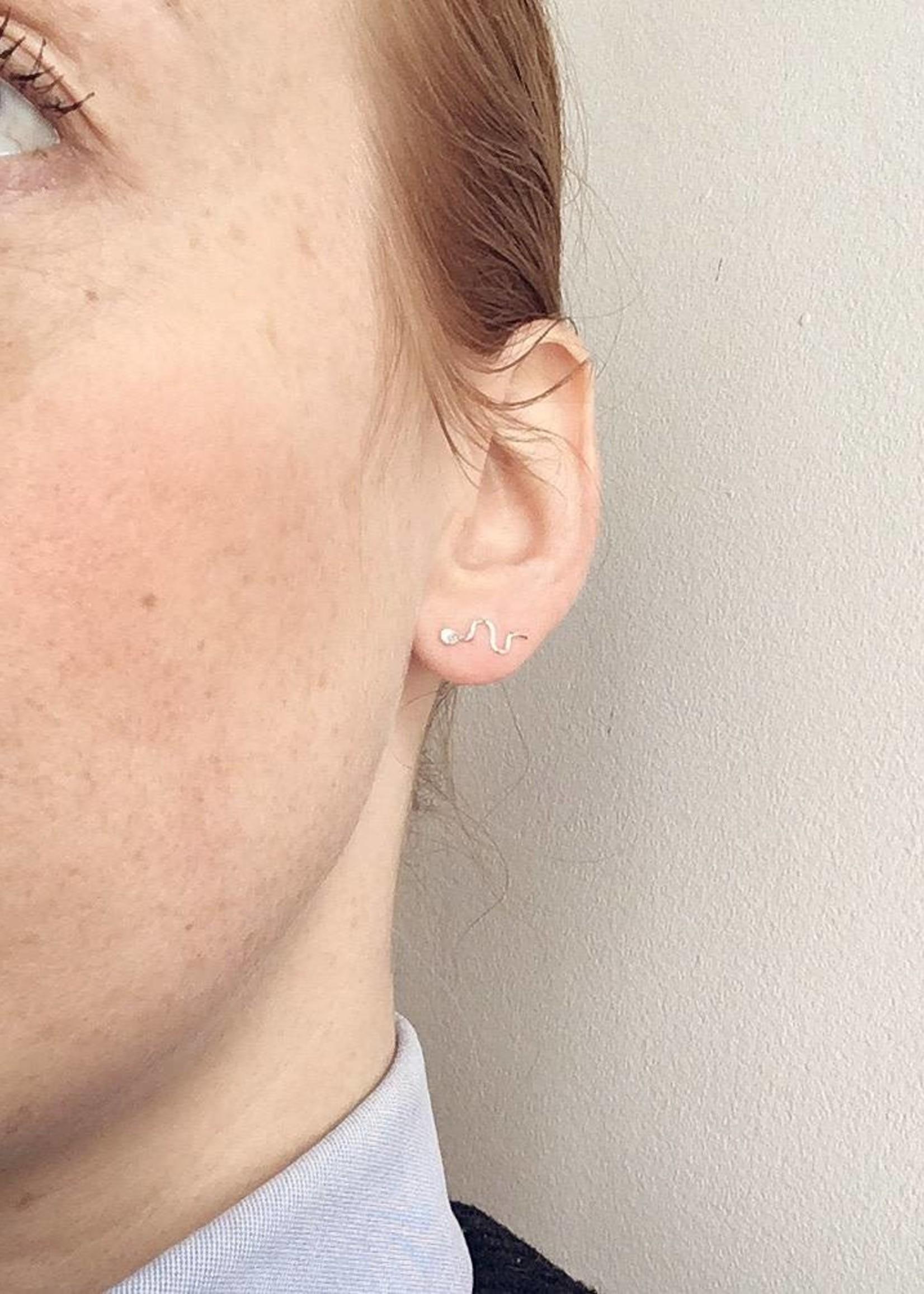 Najeli Jewellery Sperm Earrings