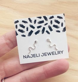 Najeli Jewellery Sperm Earrings