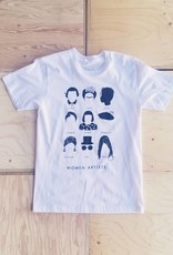 "Stefanie Boyd-Berks T-shirt ""Women Artists"""