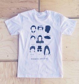 """Stefanie Boyd-Berks T-shirt """"Women Artists"""""""