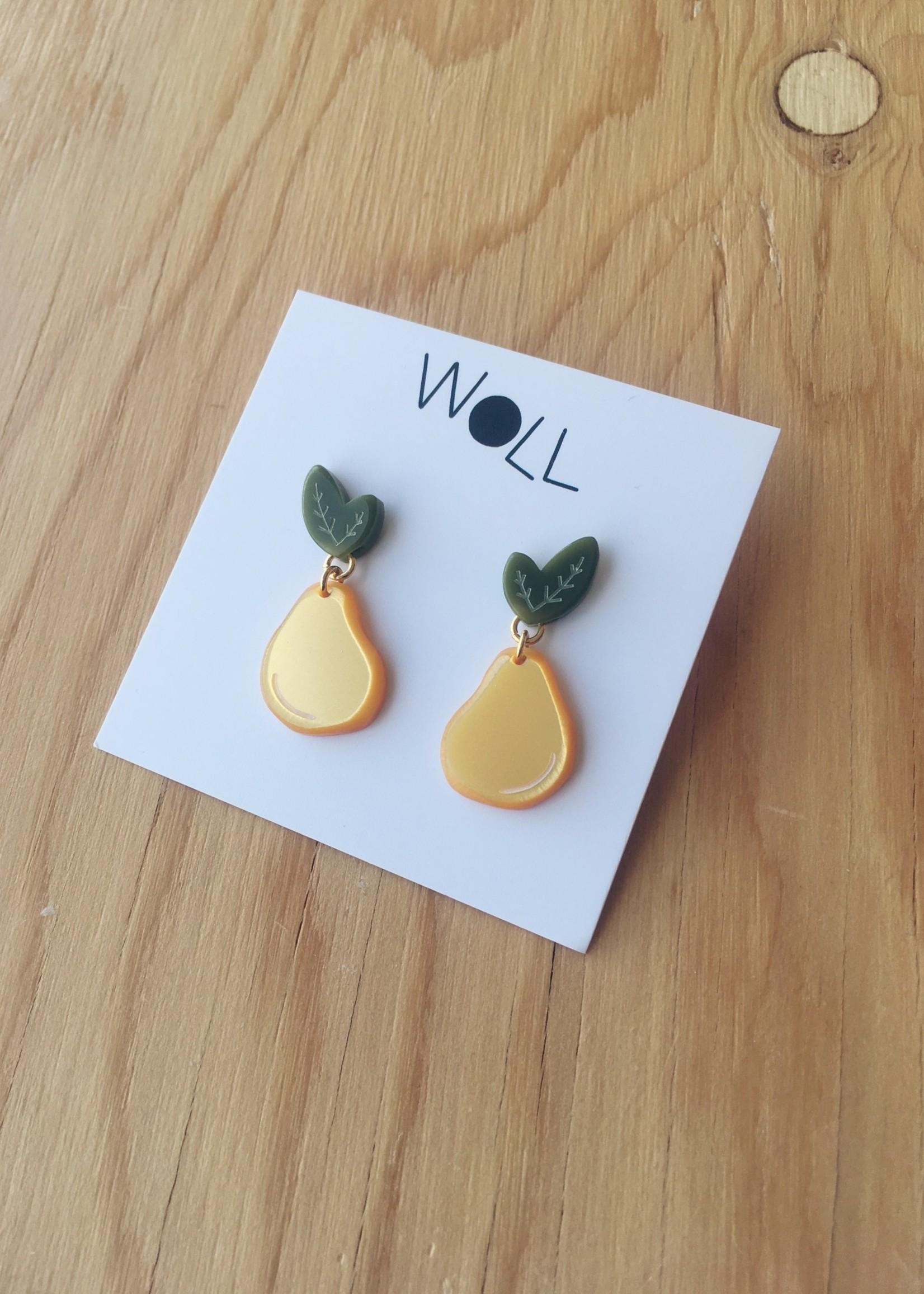 Woll Boucles d'oreilles Fruits
