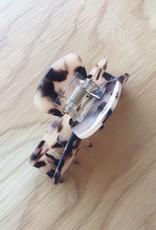 Machete Midi Claw Clip Ash Blonde Tortoise