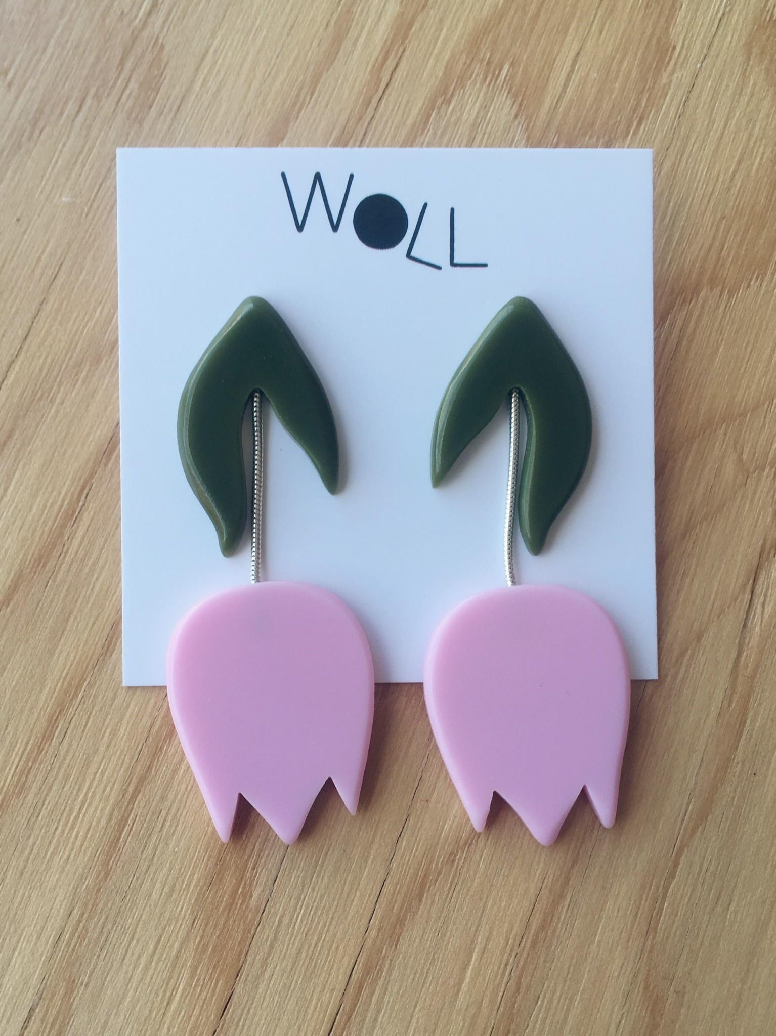 Woll Tulip Earrings