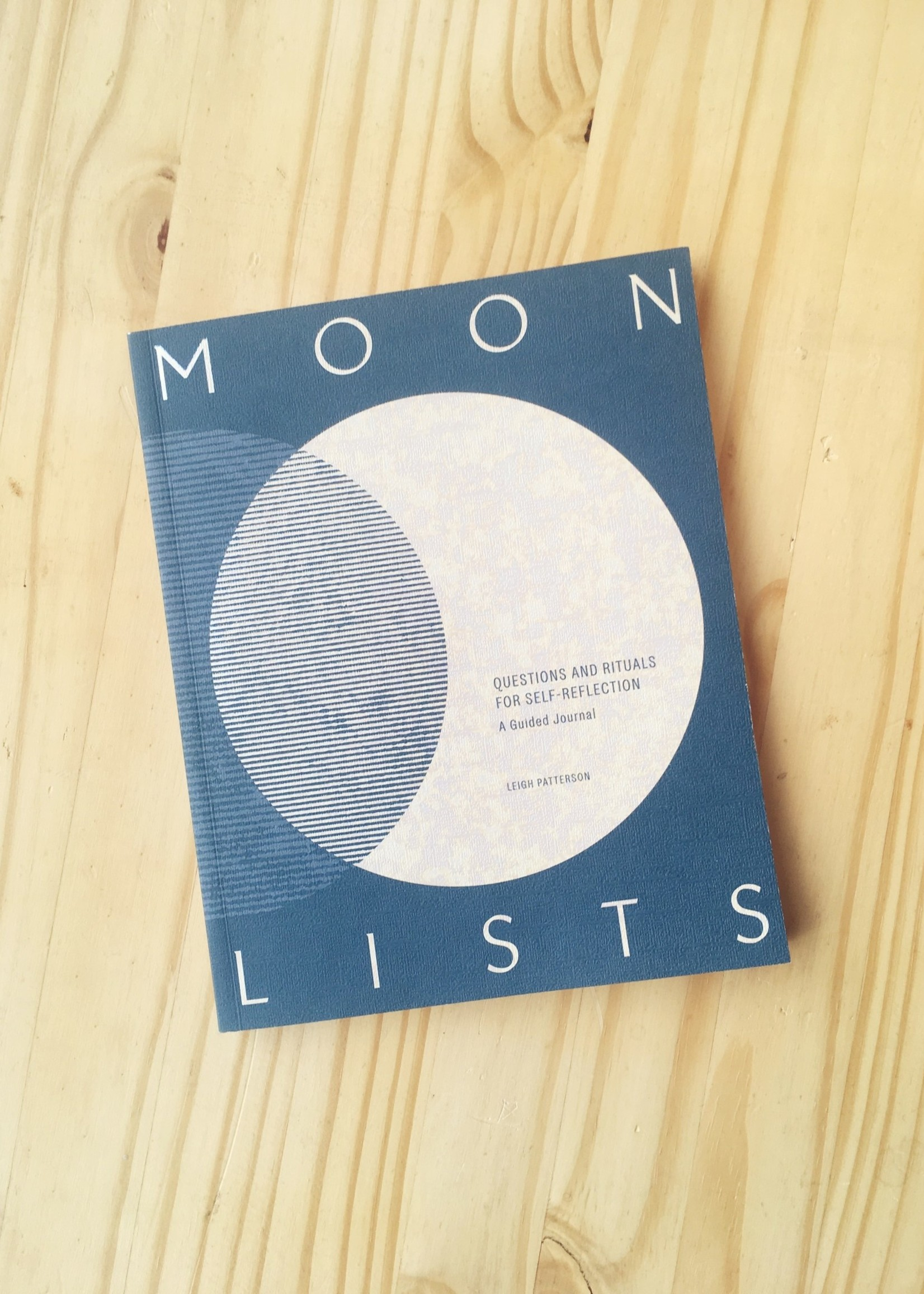 """Leigh Patterson Cahier d'exercices """"Moon Lists"""""""