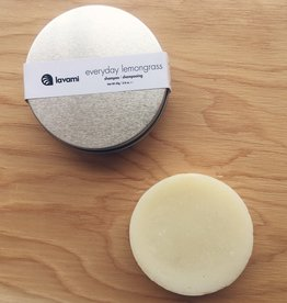 Lavami Everyday Lemongrass Shampoo Bar in a Box