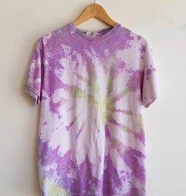 Annex Vintage Purple Tie Dye Tees