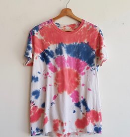 Annex Vintage T-shirts Tie Dye Roses
