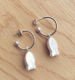Nikki Nikki Fish Charm Earrings
