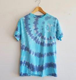 Annex Vintage T-shirts Tie Dye Bleus