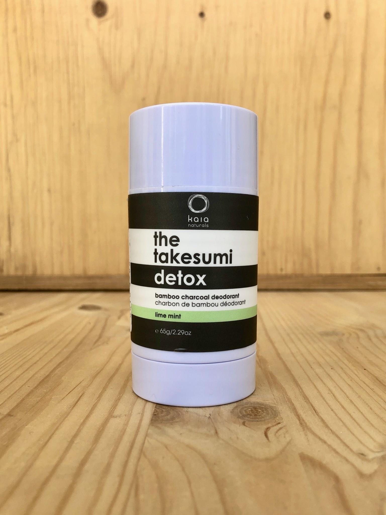 Kaia Naturals Charcoal Deodorant 65 g