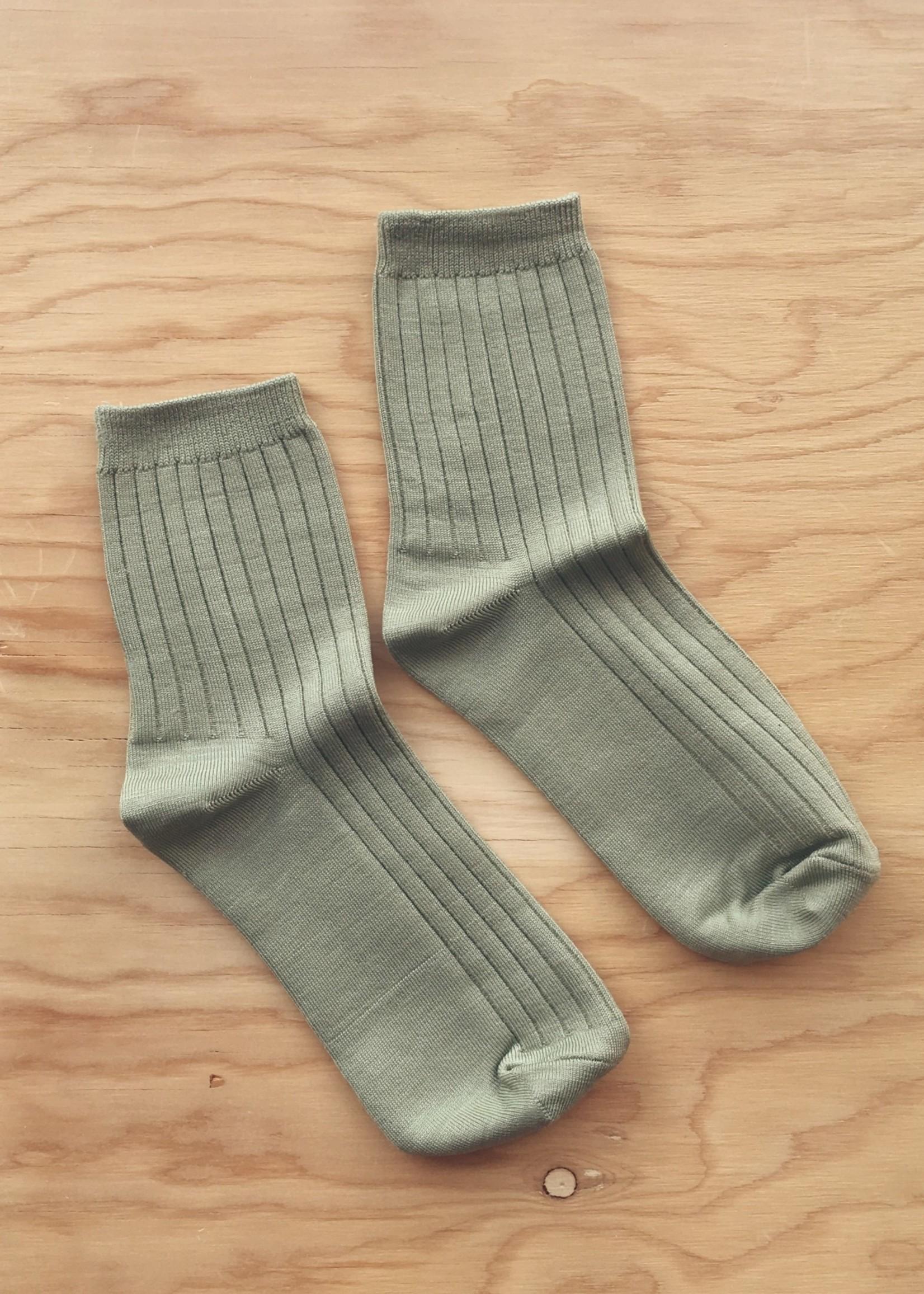 Le Bon Shoppe Solid Ribbed Socks