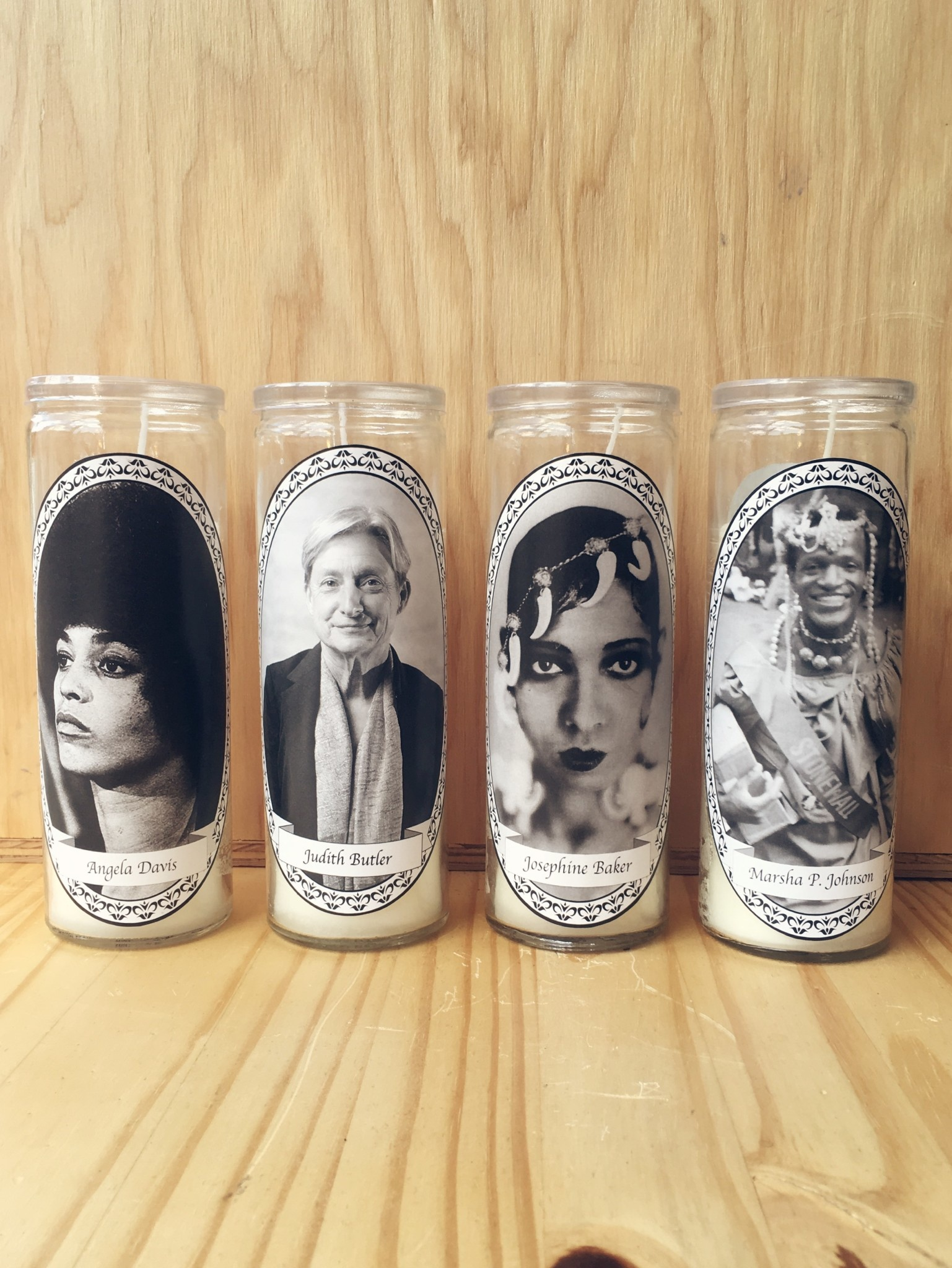 Janina Anderson Feminist and LGBTQ Icon Votive Candles