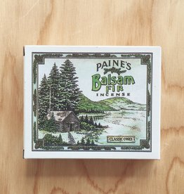Paine Balsam Fir Incense with Holder (32)
