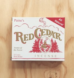 Paine Red Cedar Incense with Holder (32)