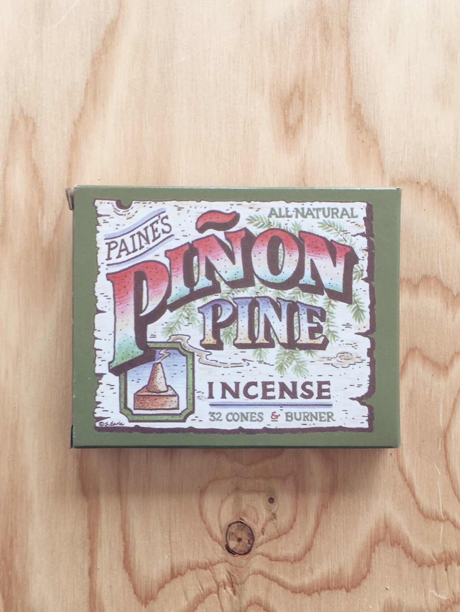 Paine Piñon Pine Incense with Burner (32)