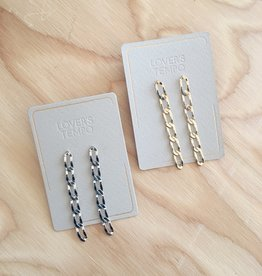 Lover's Tempo Chain Reaction Earrings