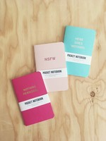 Word For Word Factory Carnets de Poche