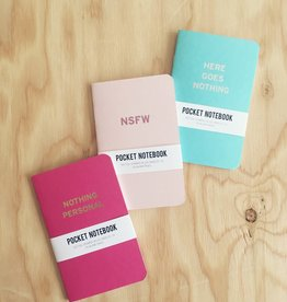 Word For Word Factory Pocket Notebooks