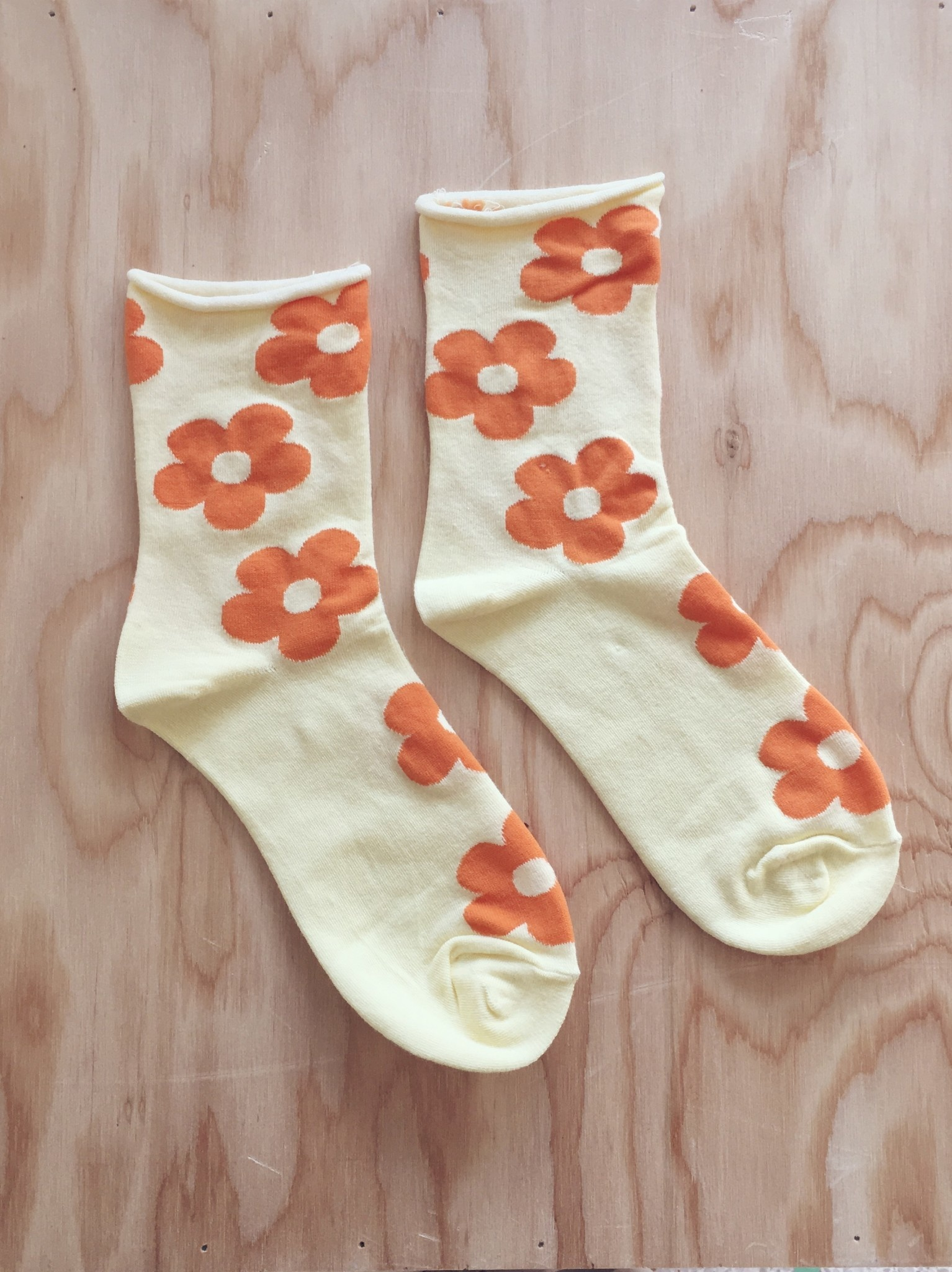 Annex Vintage Summer Daisy Socks