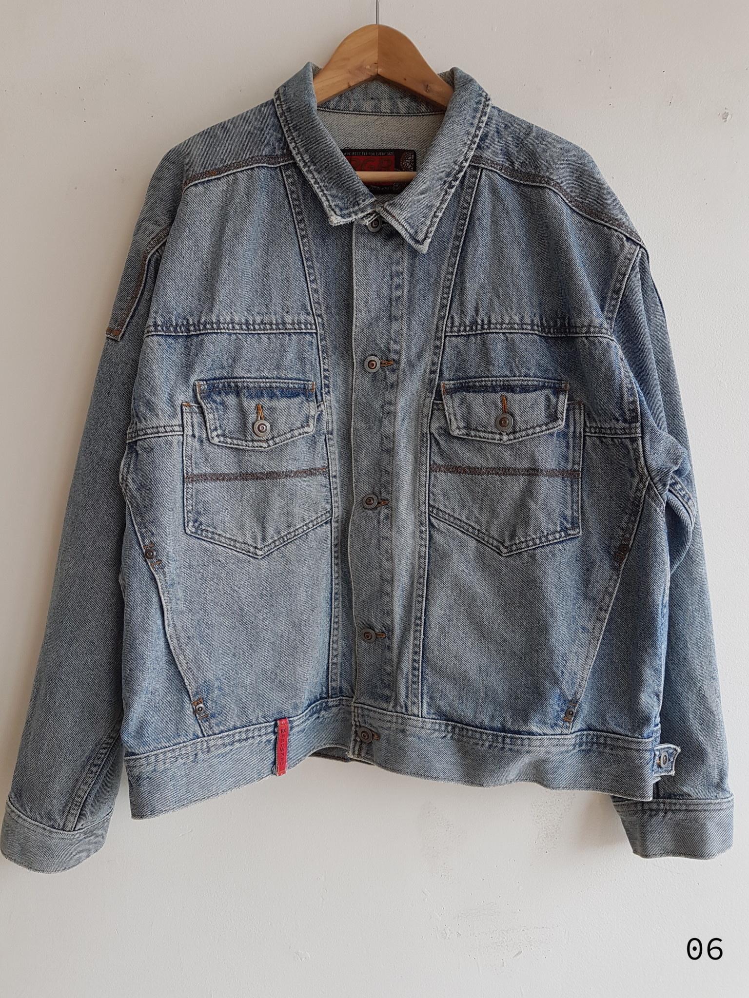 Annex Vintage Detailed Jean Jackets