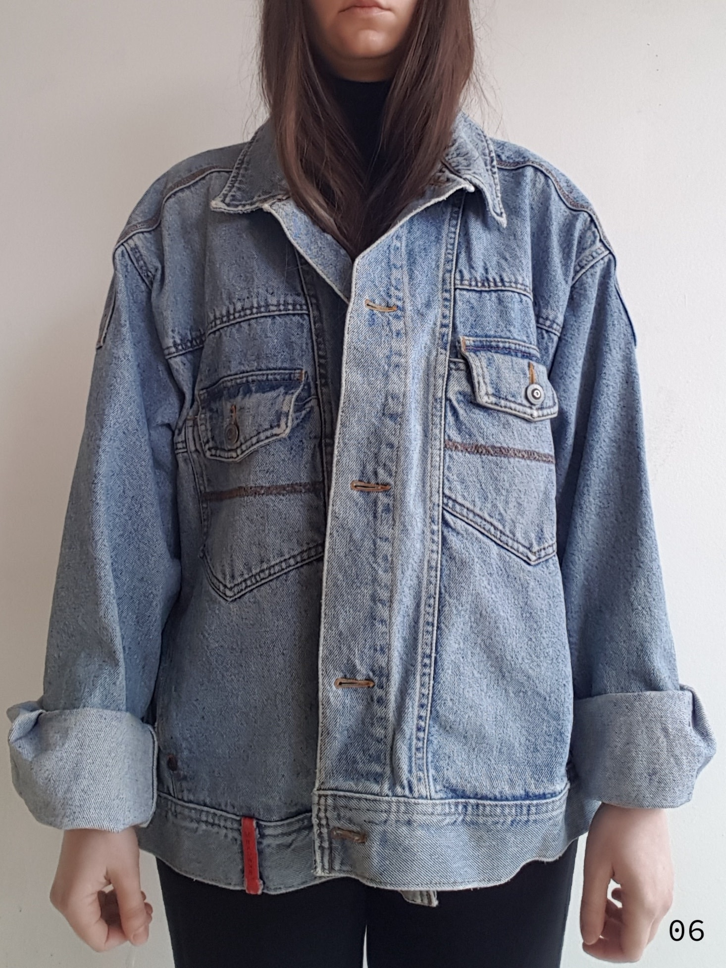 Annex Vintage Vestes en jean avec détails