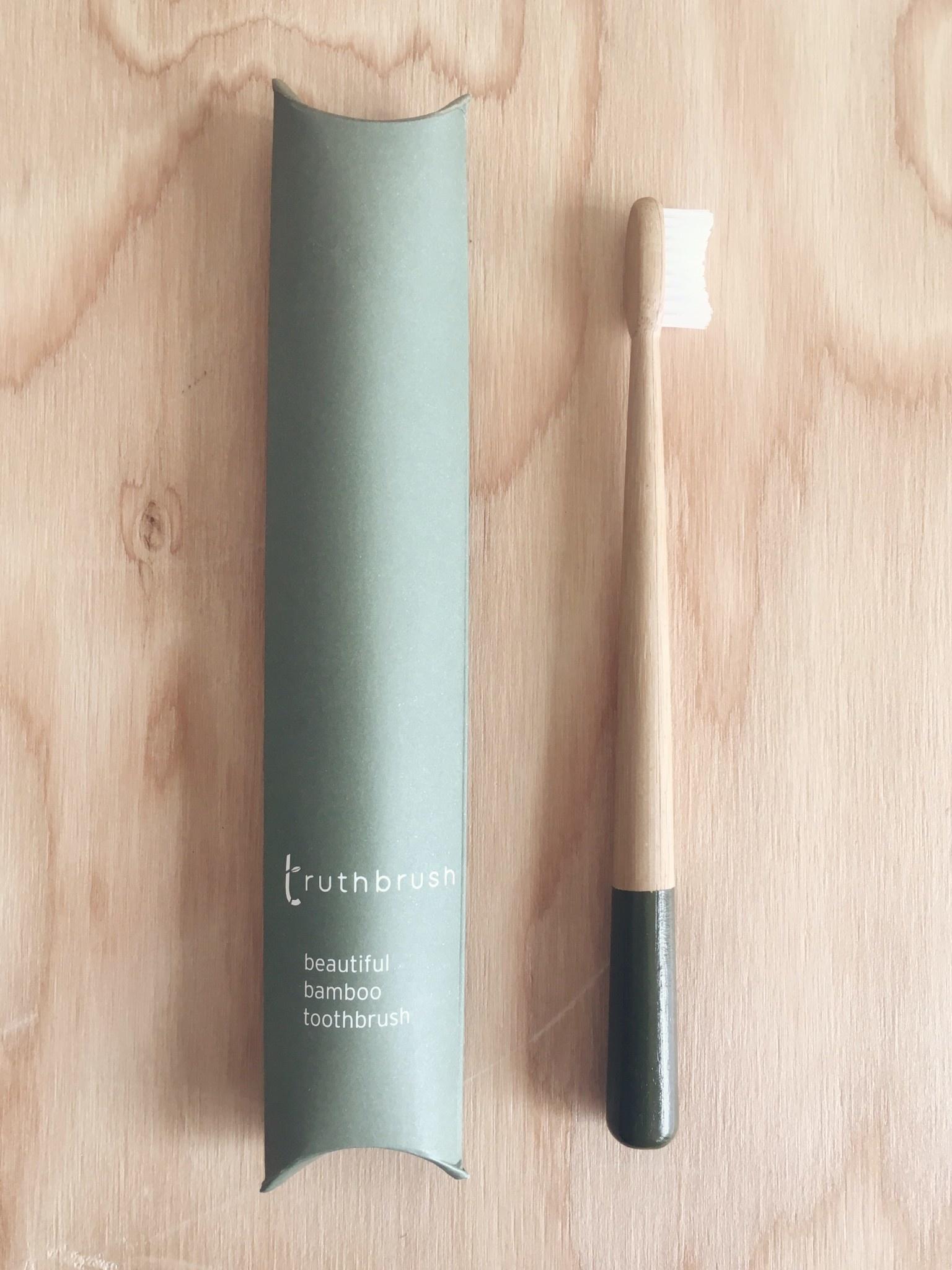 Truthbrush Bamboo Toothbrush - Medium Bristles