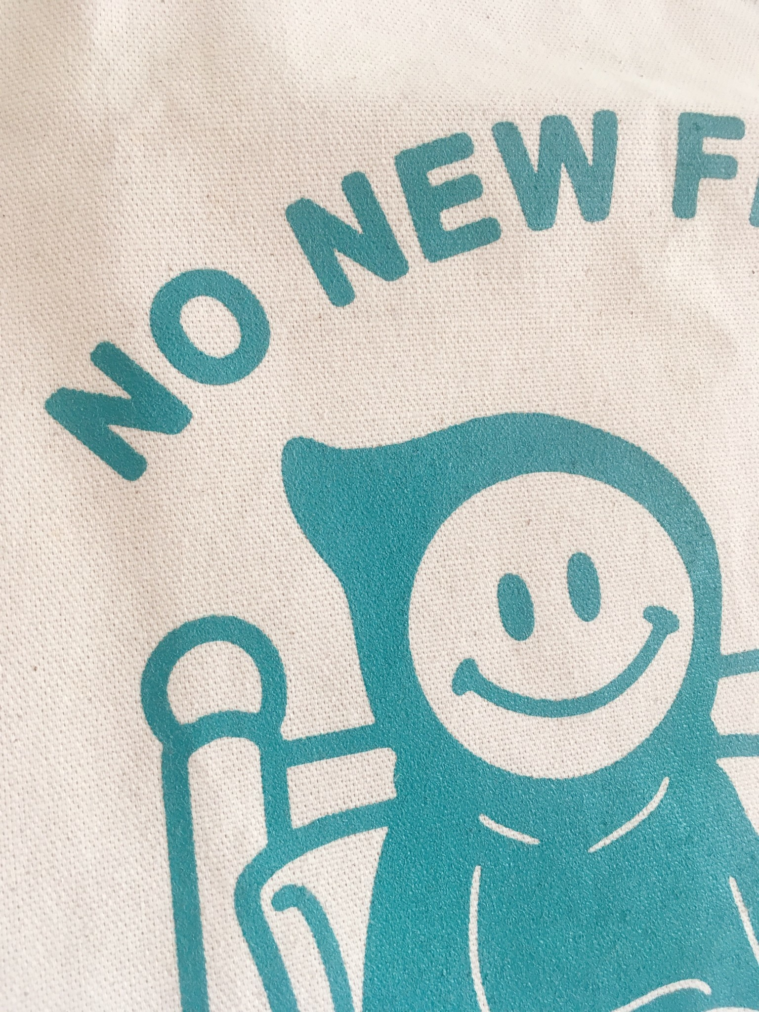 """Stay Home Club Fourre-tout """"No New Friends"""""""