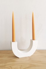 Paddywax U-shaped Ceramic Candlelabra