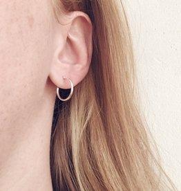 Mile End Jewelry Boucles d'oreilles Anneaux Argent