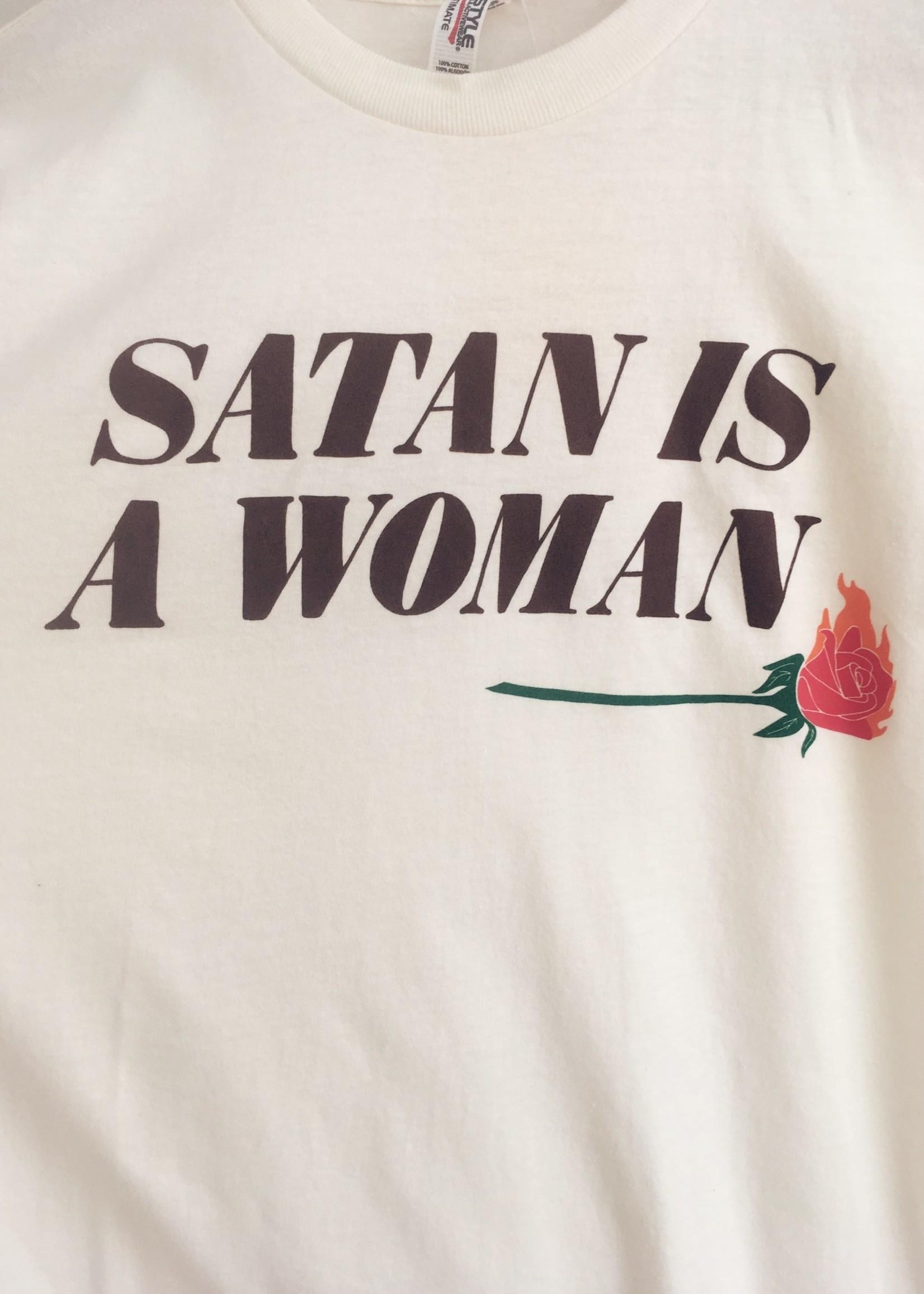 Rosehound Apparel Satan Is A Woman T-Shirt