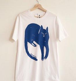 "Stay Home Club T-shirt ""Feelin' blue"""
