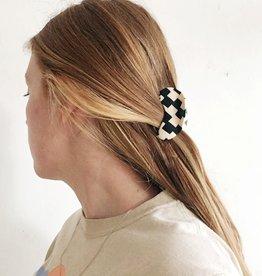 Chunks Pince à cheveux à motif damier