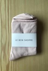 Le Bon Shoppe Solid Pump Socks