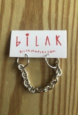 """Bilak Jewellery BILAK """"Double Chain"""" Earrings"""