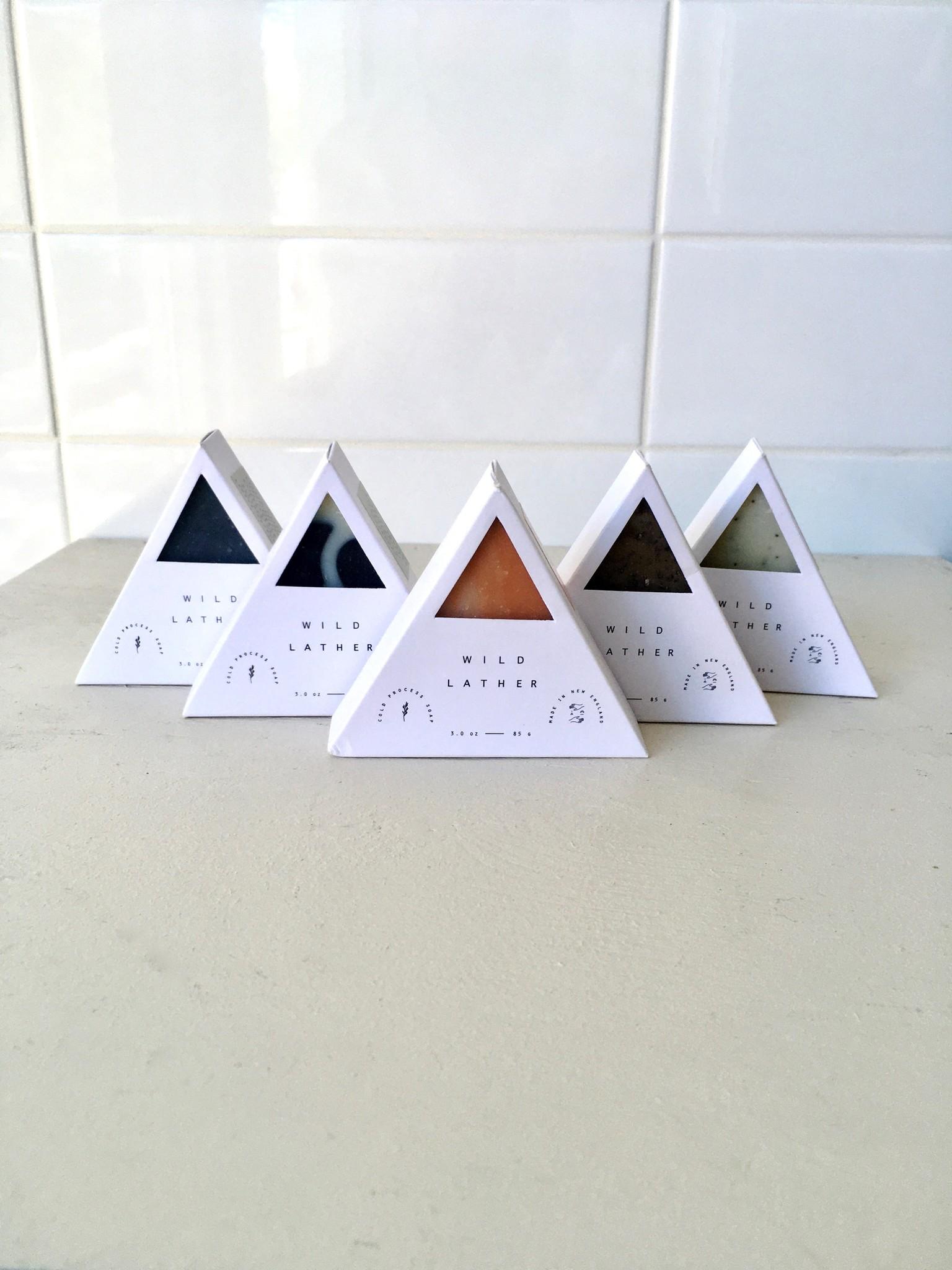 Wild Lather Savon Triangle