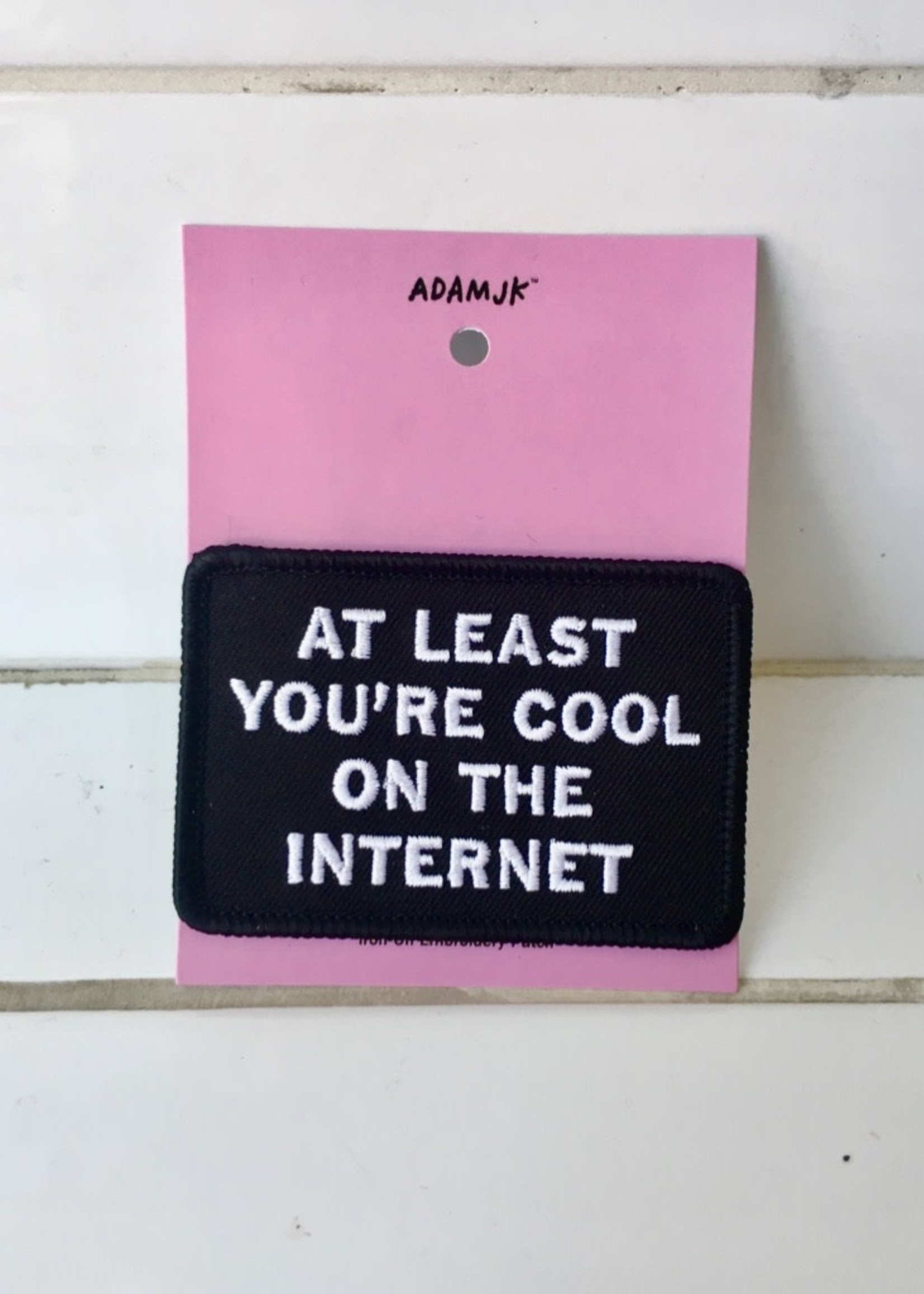 Adam J Kurtz Cool on the Internet Patch