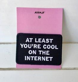 "Adam J Kurtz Appliqué ""Cool on the Internet"""