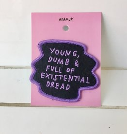 Adam J Kurtz Existential Dread Patch