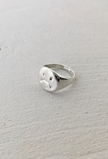 Marmod8 Silver Ring Melted Grumpy