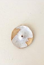 "Nightshift Ceramics Incense Holder ""Circle"""
